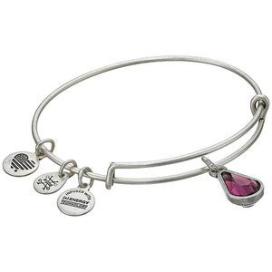Alex and Ani Swarovski Crystal Silver Bracelet